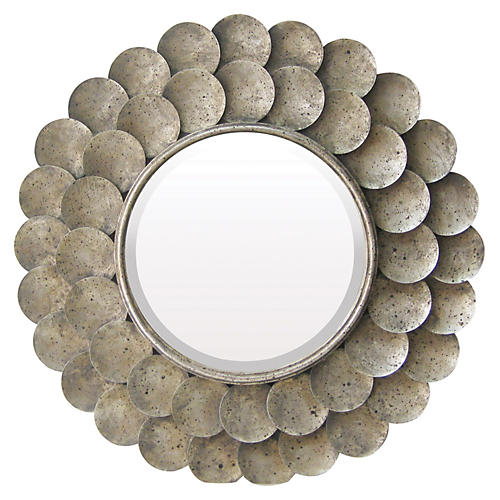 Harolds Grange Mirror, Nickel