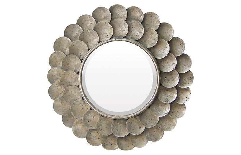 Harolds Grange Mirror - Nickel