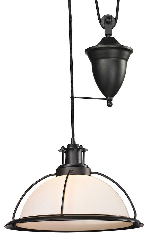 Wilmington 1-Light Pendant, Bronze