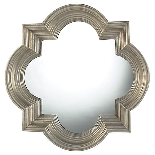 "Proctor 30"" Mirror, Greenaway Gold"