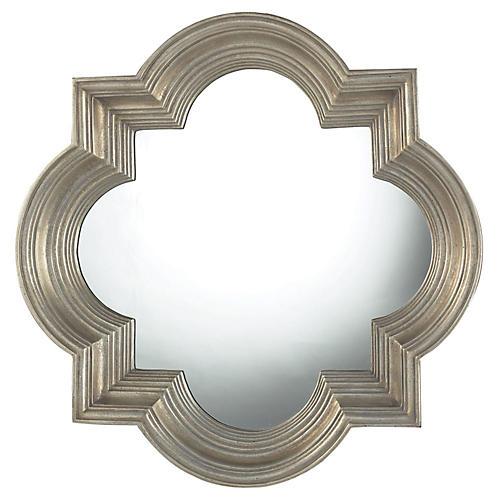 "Proctor 30"" Mirror, Greenaway Gold"