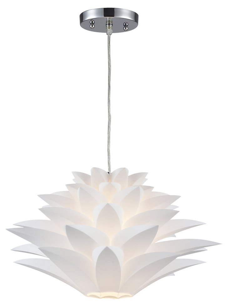 Inshes 1-Light Pendant, Small