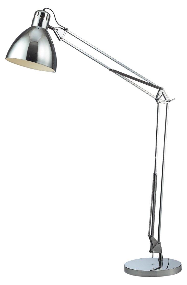 Ingelside Floor Lamp, Chrome