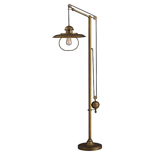 Farmhouse Floor Lamp, Bronze