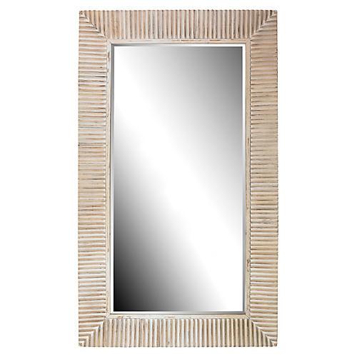 Cassandra Floor Mirror, Natural