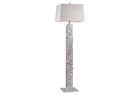 Pearl Floor Lamp, White