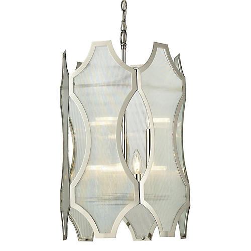 Beneicia 6-Light Pendant, Nickel