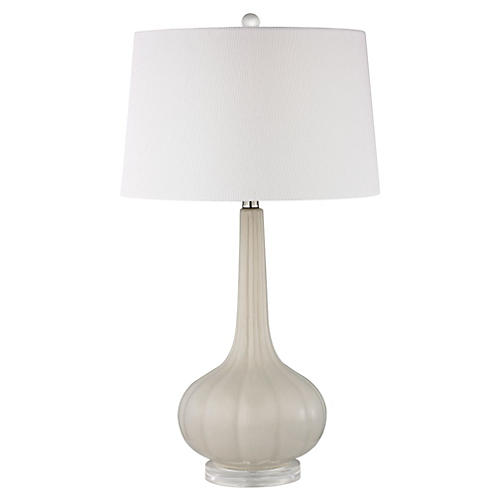 Abbey Lane Table Lamp, Off-White
