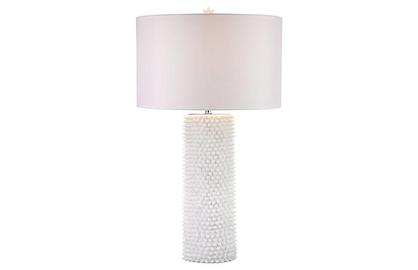 Punk Table Lamp, White