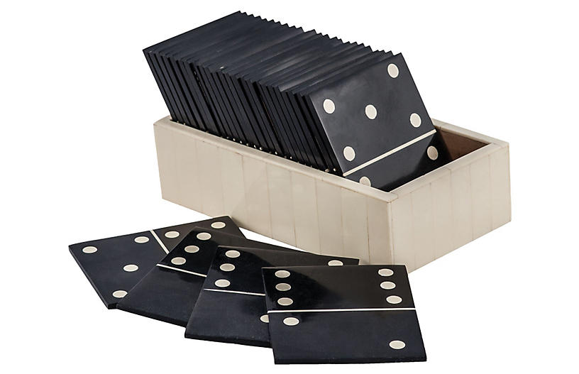 Motto Domino Game - Black