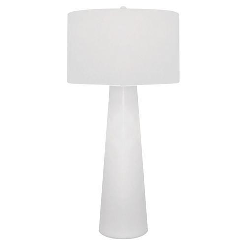 Obelisk Table Lamp, White