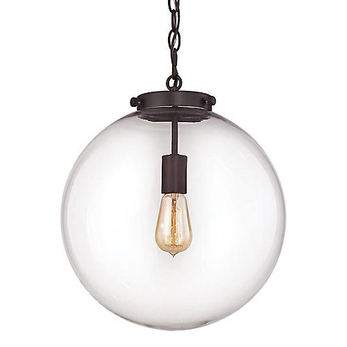 Gramercy 1-Light Pendant, Bronze