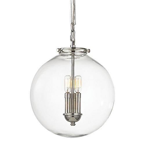 Gramercy 1-Light Pendant, Nickel