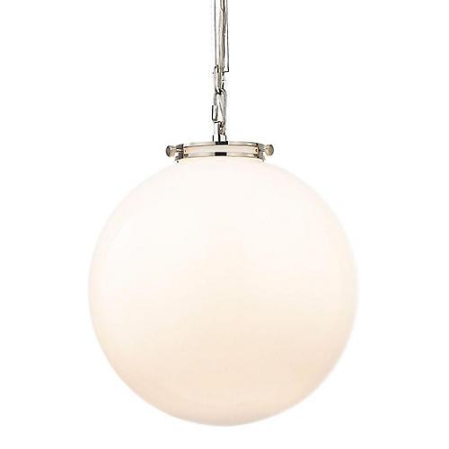 Gramercy 1-Light Pendant, White