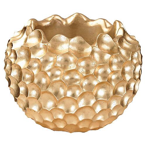 """16"""" Vivo Bowl, Gold"""