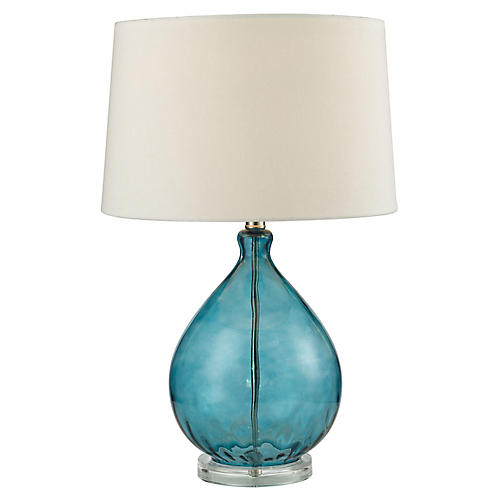 Wayfarer Table Lamp, Teal