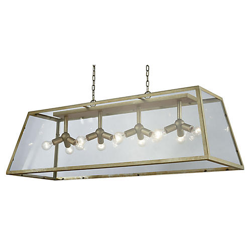 Swanson 12-Light Pendant, Antiqued Silver