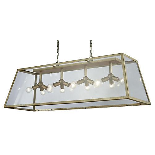 Swanson 12-Light Pendant, Antiqued Silver