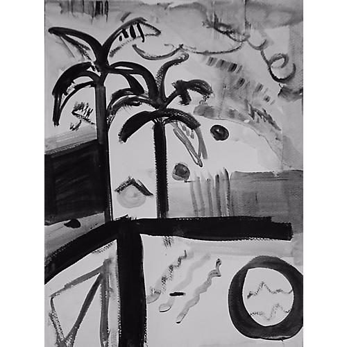 Poolside Palm, Kristin Gaudio