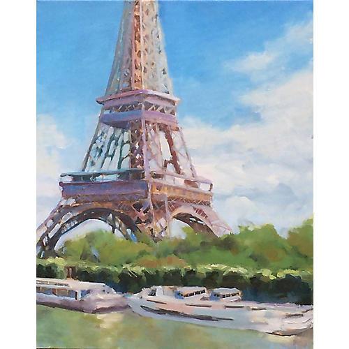 Eiffel Tower View, Anne Strickland
