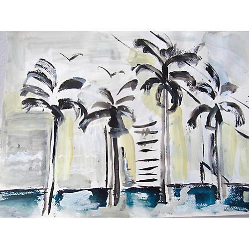 Seaside Palms, Kristin Gaudio Endsley