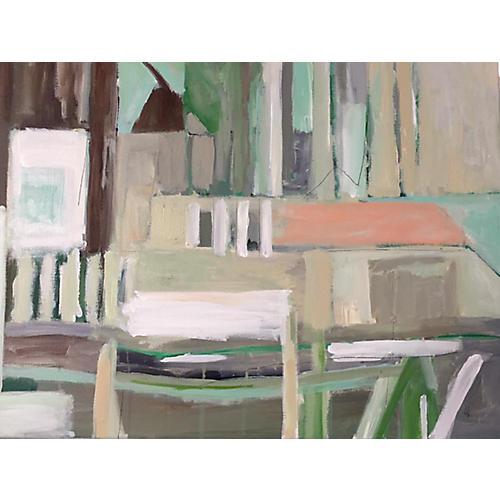 Georgia Interior Abstract II, Katherine McClure