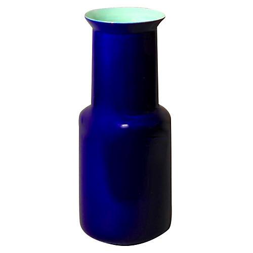 "8"" Sauville Vase, Indigo"