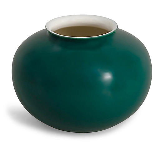 "4"" Kyra Mini Cassidy Vase, Racing Green"