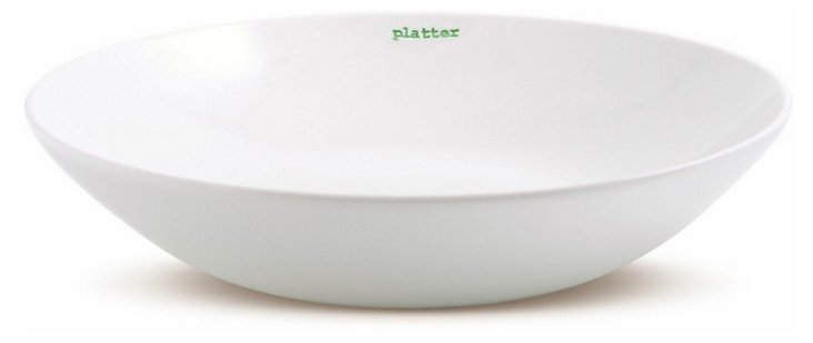 "Porcelain Serving ""Platter"""