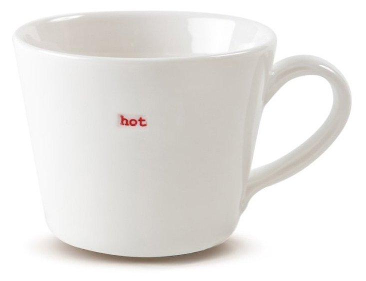 "Porcelain ""Hot"" Espresso Cup"