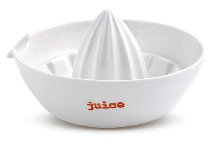 """Porcelain """"Juice"""" Juicer Bowl"""