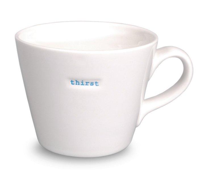 Bucket Mug, 'Thirst'