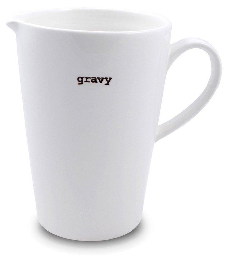 "Extra-Large Jug, ""Gravy"""