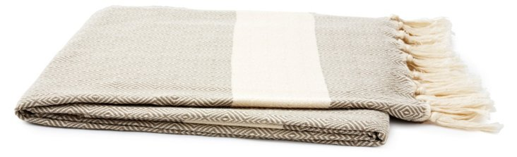 Ayla Throw, Beige