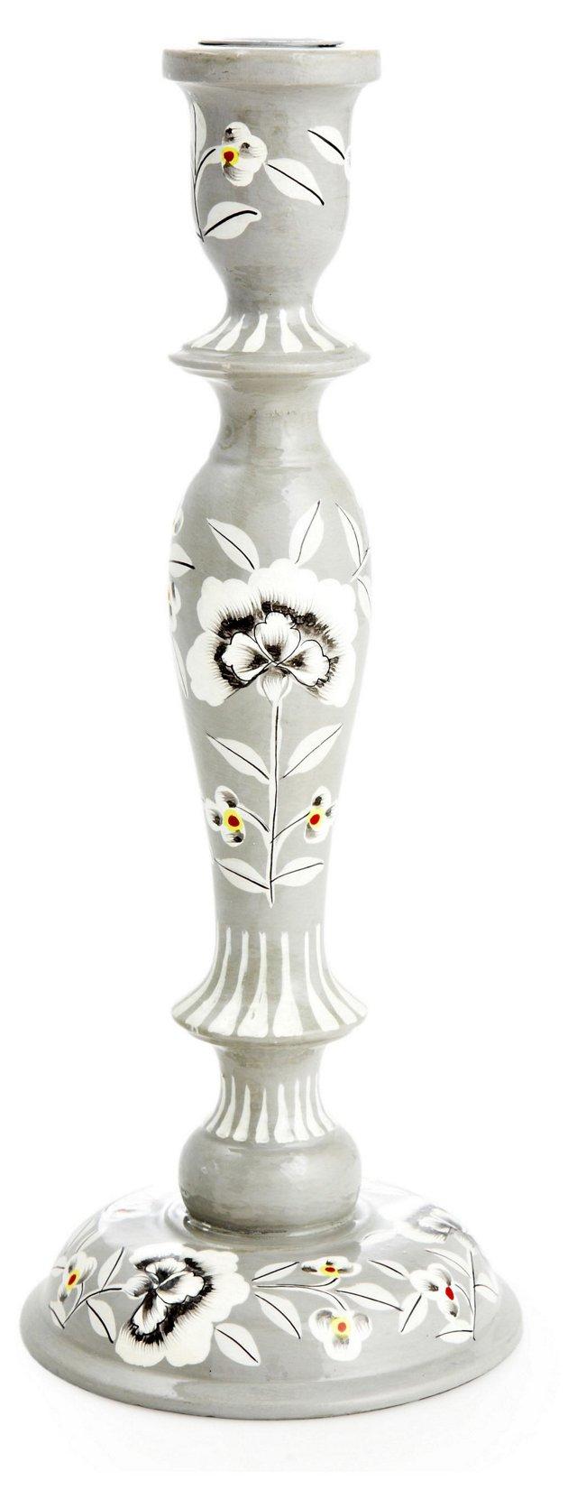 """12"""" Fleur Candlestick"""
