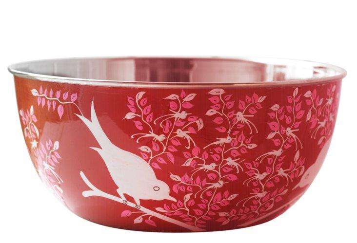 S/4 Eva Bowls, Red