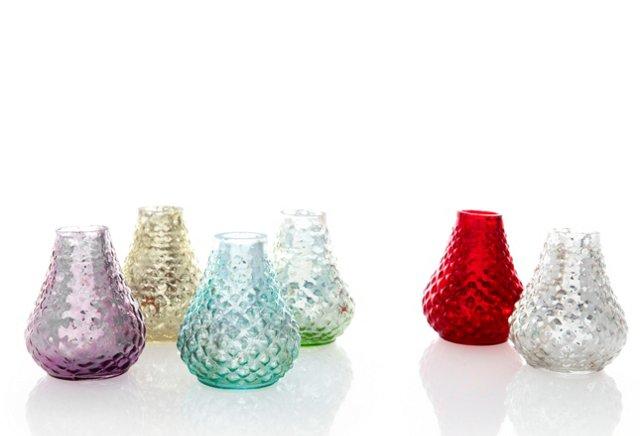 S/6 Assorted Bibi Vases