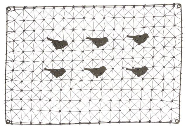 Bird Peg Peg Board