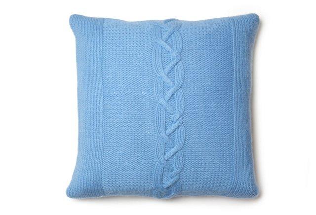 Florence 16x16 Pillow, Blue/Green