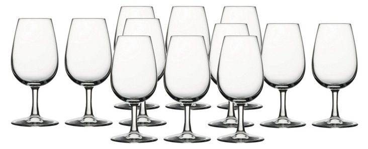 S/12 International Tasting Glasses