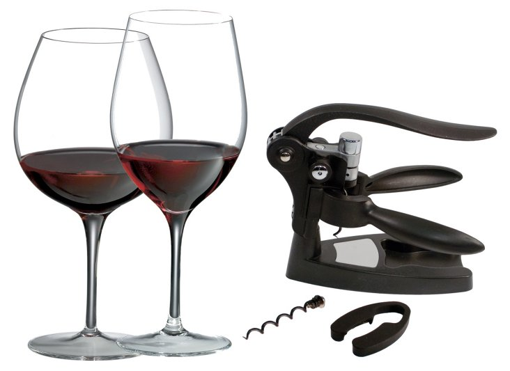 Crystal Classic Red Wine Gift Set