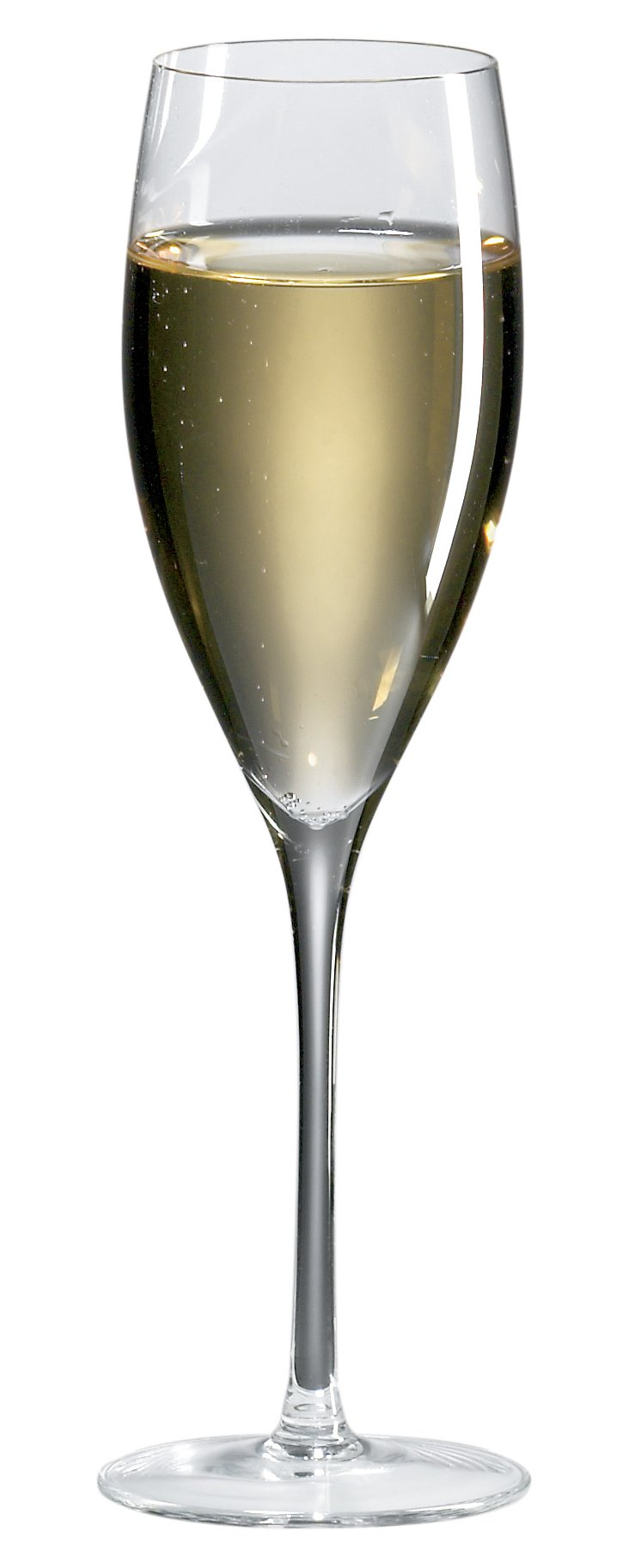 S/8 Crystal Champagne Flutes