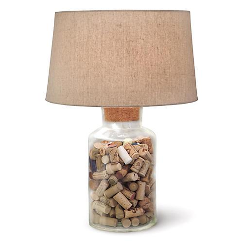 Keepsake Table Lamp, Clear