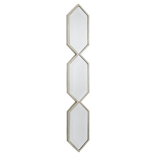 Triple Diamond Wall Panel, Silver