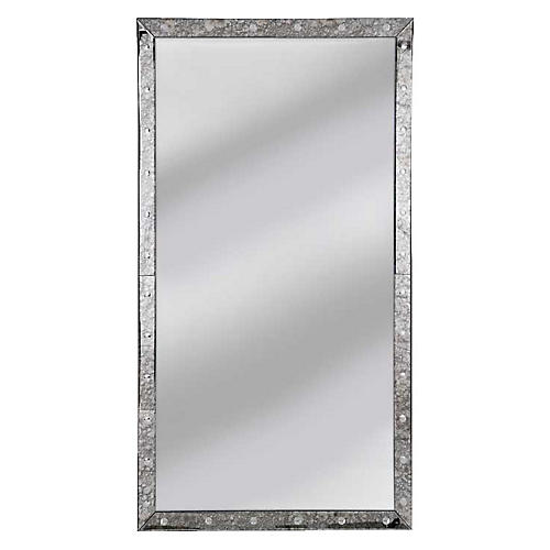 Venetian Floor Mirror, Clear