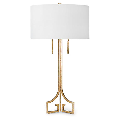 Le Chic Table Lamp, Gold