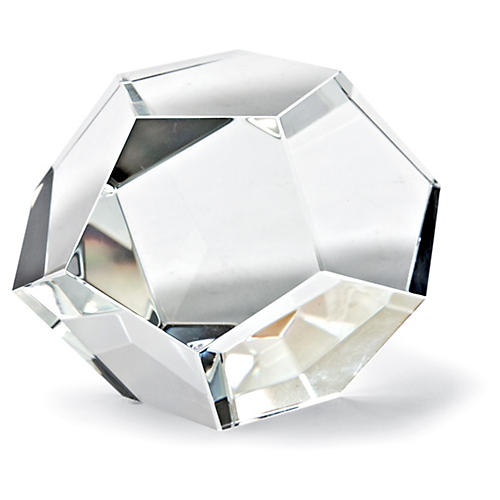 Crystal Dodecahedron, Clear