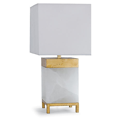Jillian Table Lamp, Alabaster