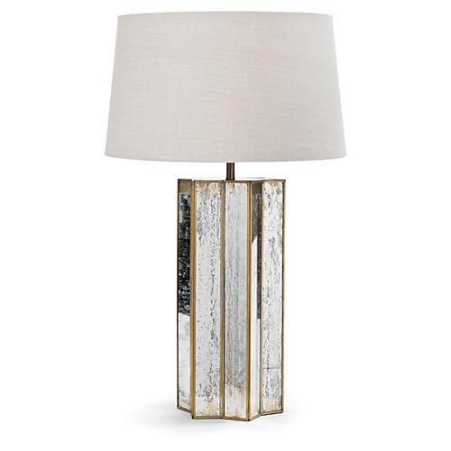 Antique Mercury Star Lamp
