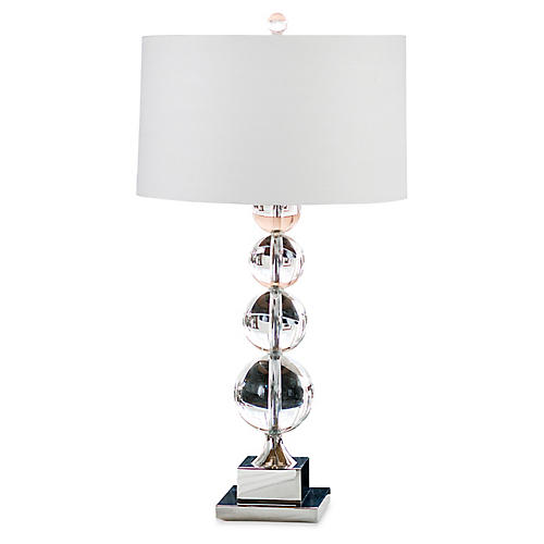 Modern Crystal Sphere Lamp